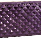 Purple Quilted Diamond Wallet