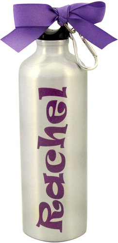 20 oz. Silver Aluminum Sports Bottle