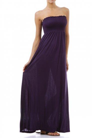 Purple Maxi Dress - Size Medium