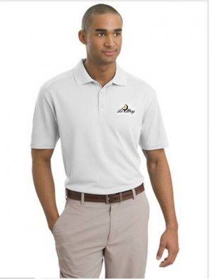 LARGE -  LA BRAG NIKE GOLF - Dri-FIT Classic Sport Shirt