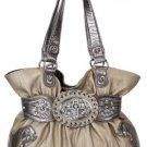 Light Gold Cross Handbag