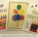 Birthday Cards - Item# BDP-0901