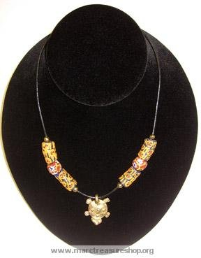 "24"" Turtle in the Red Sea Necklace - Item#: ZZ-1A"