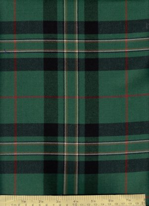 Celtic Pride Tartan Fabric By The Half Yard 100 Wool