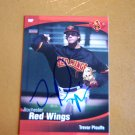 2009 Choice Red WIngs Trevor Plouffe