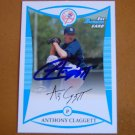 2008 Bowman Prospects Anthony Claggett