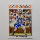 2008 Topps Update Alex Cintron