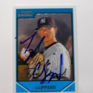 2007 Bowman Chrome Tyler Clippard