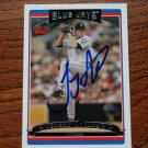 2006 Topps Update Jeremy Accardo Autograph