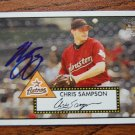 2006 Topps '52 Chris Sampson Autograph