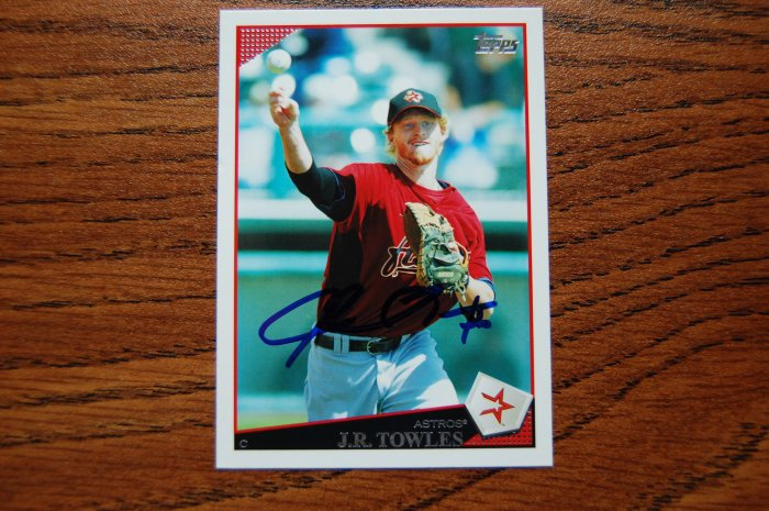 2009 Topps Series 2 J.R. Towles Autograph