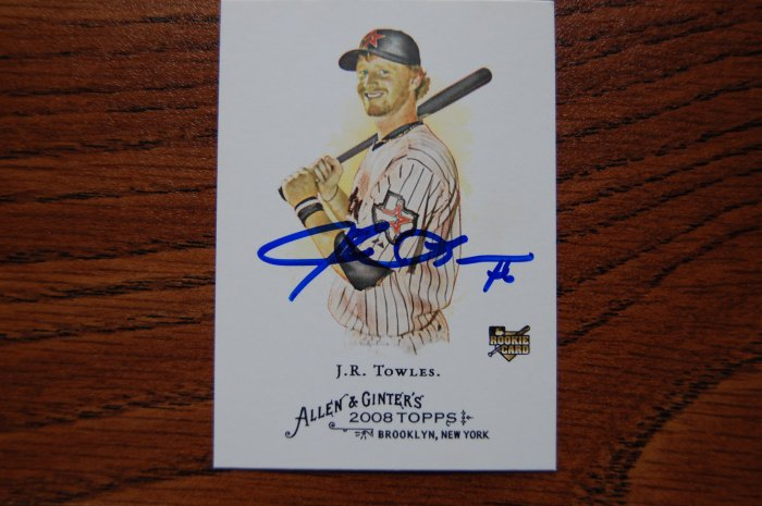 2008 Topps Allen & Ginter's J.R. Towles Autograph