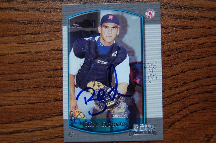 2000 Bowman Brian Epsosito Autograph