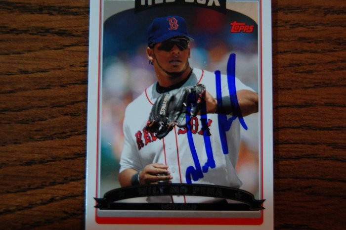 2006 Topps Series 2 Wily Mo Pena Autograph