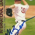 2009 Choice International League Top Prospects Michael Bowden Autograph
