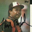 1986 Topps Floyd Rayford Autograph