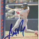 1993 Pacific Gerald Perry Autograph