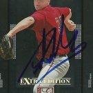 2008 Donruss Extra Elite Edition Adam Mills Autograph