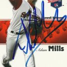 2008 Tristar Projections Adam Mills Autograph