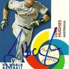 2009 Topps World Baseball Classic Luke Hughes Autograph