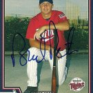 2004 Topps Traded Brock Peterson Autograph