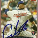 2006 Topps First Edition Fausto Carmona Autograph