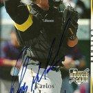 2007 Upper Deck Series 1 Carlos Maldonado Autograph