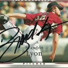 2007 Upper Deck Series 2 Brandon Lyon Autograph