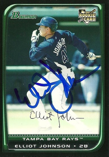 2008 Bowman Draft Elliot Johnson Autograph