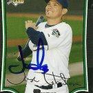2009 Bowman Draft Jose Lobaton Autograph