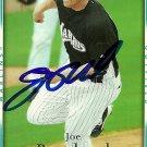 2007 Upper Deck Series 2 Joe Borchard Autograph