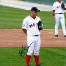 Michael Bowden signed 8.5 x 11