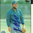 1986 Topps Ken Oberkfell Autograph