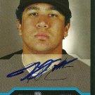 2004 Bowman Jesse English Autograph