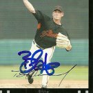 2007 Topps Update Brad Hennessey Autograph