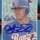 1988 Donruss Larry Parrish Autograph