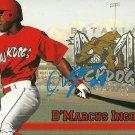 2009 Choice Muckdogs D'Marcus Ingram Autograph