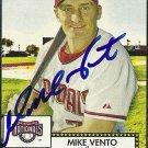 2006 Topps '52 Mike Vento Autograph