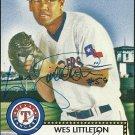 2006 Topps '52 Wes Littleton Autograph