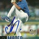 2006 Upper Deck Update Juan Mateo Autograph