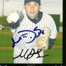 2007 Topps Update Matt DeSalvo Autograph