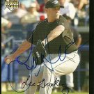 2007 Topps Update Lee Gronkiewicz Autograph