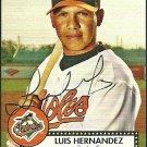 2007 Topps '52 Luis Hernandez Autograph