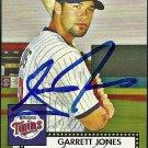2007 Topps '52 Garrett Jones Autograph