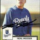 2007 Topps '52 Neal Musser Autograph