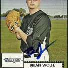 2007 Topps '52 Brian Wolfe Autograph