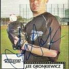 2007 Topps '52 Lee Gronkiewicz Autograph