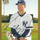 2007 Topps Update Gold Tyler Clippard Autograph