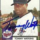2007 Topps '52 Tommy Watkins Autograph