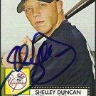 2007 Topps '52 Shelley Duncan Autograph
